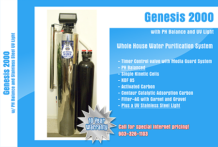 Genesis 2000 with PH Balance and UV Light